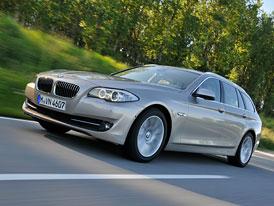 BMW 5 xDrive: Nyní i s turbodieselem, ceny začínají na 1,4 milionu Kč