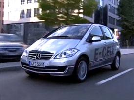 Video: Mercedes-Benz t��da A E-CELL � Elektromobil s karoseri� t��dy A