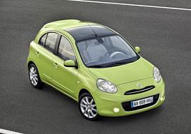 Nissan Micra v červnu zlevnil na 199.900,- Kč