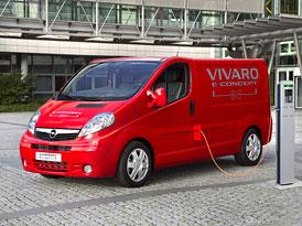 Opel Vivaro e-Concept: Van s technikou Ampery