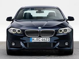 BMW 5: Pohon v�ech kol xDrive, nov� modely 535i a 535d a M-paket