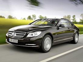 Mercedes-Benz CL po faceliftu: Základ za 3 miliony, vrchol za 6