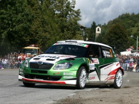 Juho Hänninen se stal se Škodou Fabia S2000 letošním šampiónem IRC