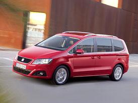 SEAT Alhambra na českém trhu od 619.900,-Kč