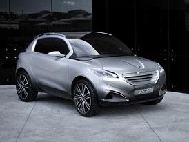 Peugeot HR1: Crossover s přeplňovaným tříválcem (81 kW)