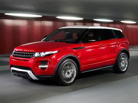 Range Rover Evoque: Pětidveřová verze potvrzena, první fotografie