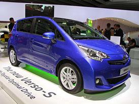 Toyota Verso-S: Malé MPV pro Evropu