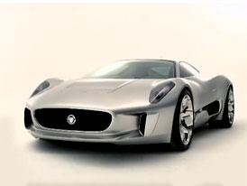 Video: Jaguar C-X75 – Supersport na elektřinu