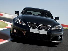 Lexus IS F: Diody, retuše a změny na podvozku