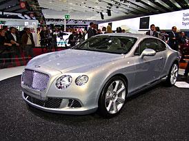 Bentley v Paříži