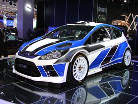 Ford Fiesta RS WRC: Nový stroj pro mistrovství světa v rallye