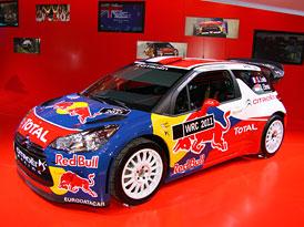 Citroën DS3 WRC: Nástupce úspěšných soutěžních speciálů
