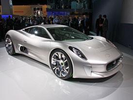 Supersport Jaguar C-X75 jde do výroby