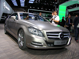 Paříž 2010: Mercedes-Benz CLS