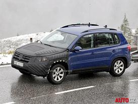 Spy Photos: Volkswagen Tiguan - facelift za dveřmi