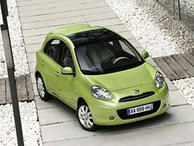 Nissan Micra: První cena 209.900,- Kč, ESP a 6 airbagů jako standard