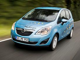 Opel Meriva MeRegioMobil: Trojice elektrick�ch Meriv m��� na silnice