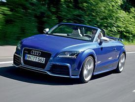 Audi TT RS: Dvě spojky pro nejsilnější TT