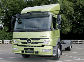 Mercedes-Benz Atego: Truck of the Year 2011