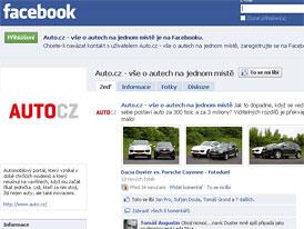 Auto.cz na Facebooku: 7500 je dost, ale 8000 je víc