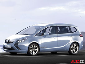 Spy Photos: Opel Zafira - Na cestě k full-size MPV