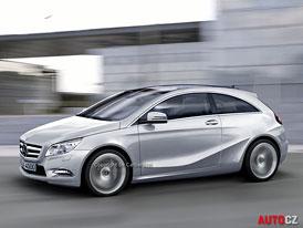 Spy Photos: Mercedes-Benz A - Konečně přímo proti Audi A3
