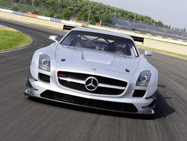Mercedes-Benz SLS AMG GT3: Racek pro racetrack