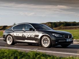 BMW ActiveHybrid7: První jízdní dojmy