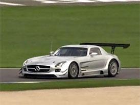 Video: Mercedes-Benz SLS AMG GT3 – Testování na závodním okruhu