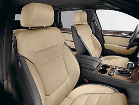 Volkswagen Touareg Exclusive: Luxusní paket pro velké SUV