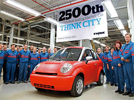 Think City: 2500 elektromobilů