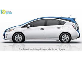 Toyota chystá Prius MPV, rodinný full-hybrid