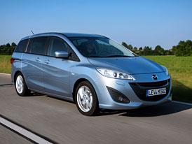 Mazda 5: Nový rodinný model podrobně
