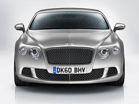 Bentley připravuje čtyřdveřové kupé