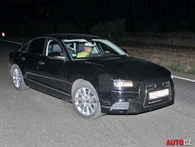Spy Photos: Audi A6 (C7) - Nové fotografie