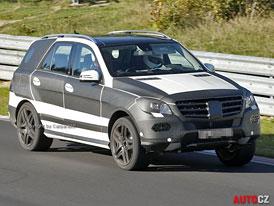 Spy Photos: Mercedes-Benz ML (W166) - Nové fotografie