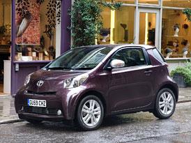 Toyota iQ: Do centra Londýna zdarma
