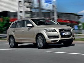 Audi Q7: Nový základ 3,0 TDI (150 kW) s nižší cenou