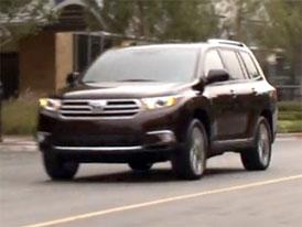 Video: Toyota Highlander – Modernizované SUV v pohybu