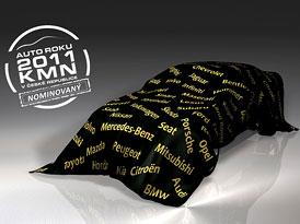 Auto roku 2011 KMN: 5 finalistů
