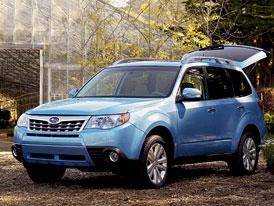 Subaru Forester: Modelový rok 2011 a nový boxer