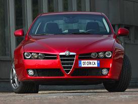 Alfa Romeo 159: Zbyly už jen dva motory
