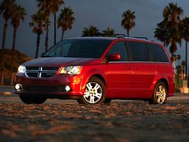Dodge Grand Caravan 2011: Nová příď a nový motor 3,6 Pentastar