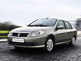 Renault Thalia: Nejlevnější auto pořídíte teď za 144.900,-Kč