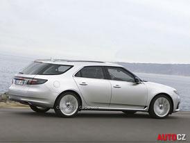 Spy Photos: Saab 9-5 SportCombi - Stane se největším?
