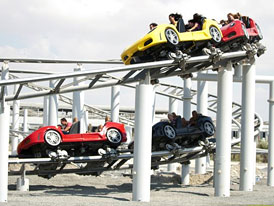 Ferrari World Abu Dhabi otevřen