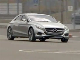 Video: Mercedes-Benz F800 Style – Projížďka s konceptem
