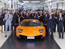 Lamborghini Murciélago: Poslední kus předán svému majiteli