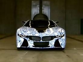 Video: BMW Vision Efficient Dynamics – Maskovaný prototyp