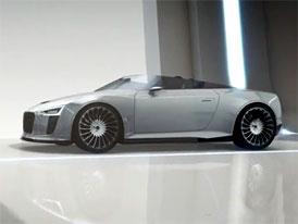 Video: Audi e-tron Spyder – Turbodiesel a dva elektromotory